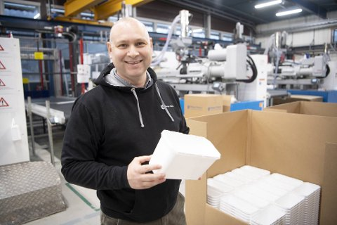 Jan Atle Lossius Ellingsen og Bergen Plastics AS har gode tider.