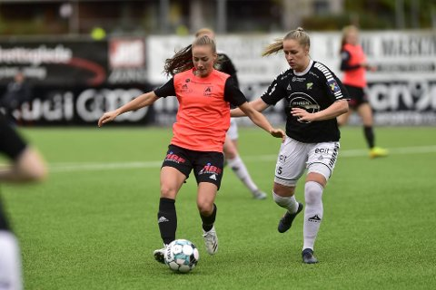 Toppscorer Milena Kokosz og Åsane endte til slutt på en 5.-plass denne sesongen.