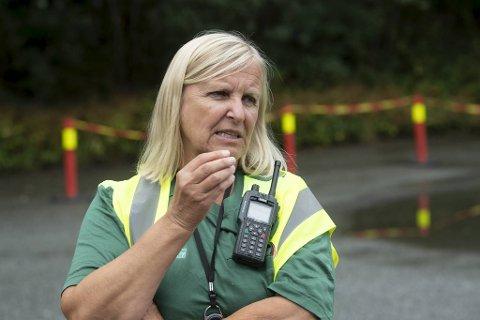 – Det helst er nærkontakter og personer som jobber i helsevesenet som tester seg nå, sier legevaktsjef Dagrun Linchausen.