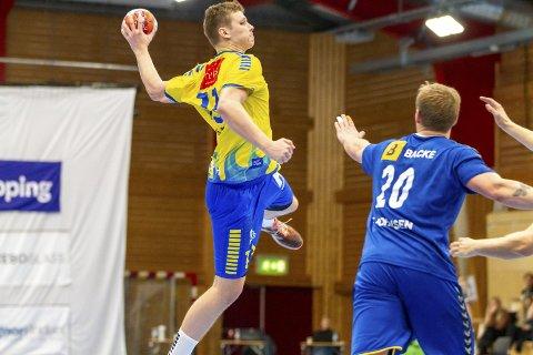 Birk Hermann Inselseth (t.v.) ble delt toppscorer for Fyllingen med seks mål sammen med Fredrik Heskestad Clementsen.