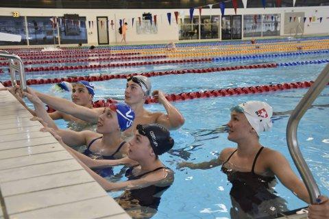 Den nye svømmeklubben får over 2000 medlemmer. Bildet er fra en tidligere trening med Vestkantsvømmerne.