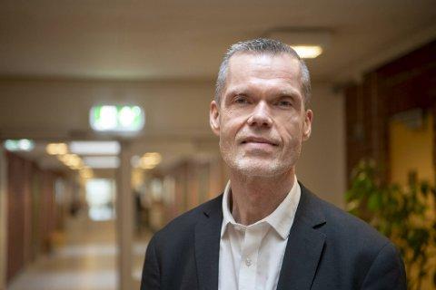 Stein Larsen, rektor ved Sandgotna skole.