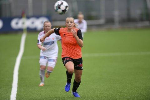 Alise Tvilde Evensen og resten av Åsane-laget har utviklet seg bra i løpet av sesongen.