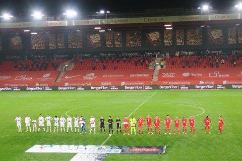 Mørket har senket seg over Stadion.