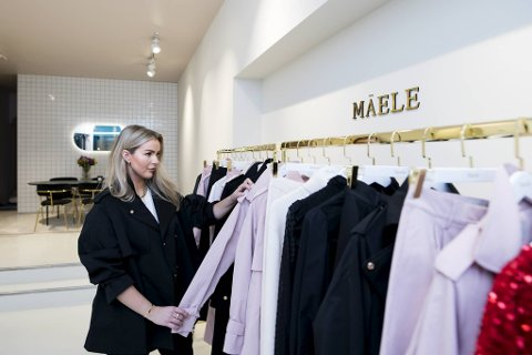Nå består Mäele av 130 kvadratmeter fordelt på fire deler, showroom, kontor, fotostudio og lager.