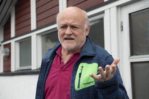 Leder i Hordaland legeforening, Gunnar Ramstad.