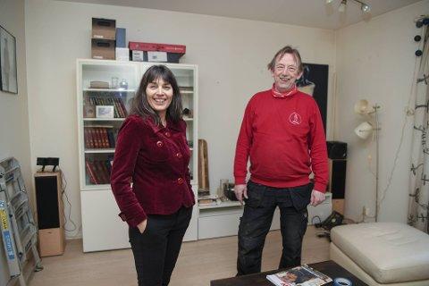 Svenning Knutsen har bodd i Trikkebyen på Møhlenpris i en mannsalder. Den nåværende leiligheten er hans tredje i løpet av 40 år. – Helt suverent å bo her, sier han. Naboen hans, Mariann Fossum, er helt enig. Hun har bodd i Trikkebyen i over 22 år.