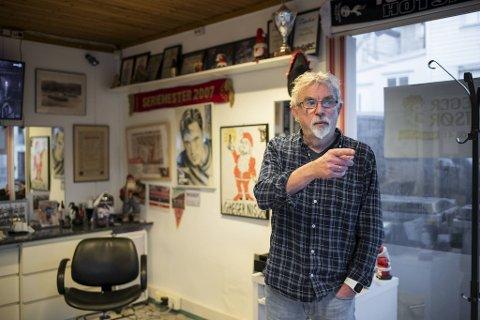 – Dette var kjent som fattigstrøket, men nå er det blitt riktig så fint her og folk er optimistiske, sier frisør Greger W. Lidal.