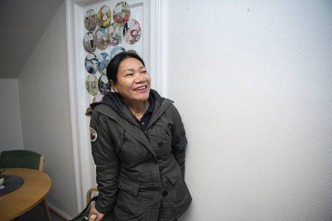 Renholder Thongla Brakestad (51) fikk endelig pengene hun skulle hatt fra Bergen kommune.