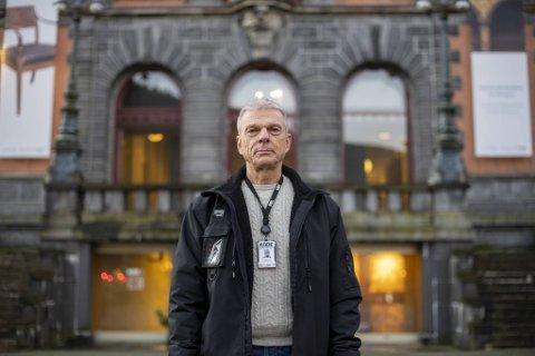 Sikkerhetssjef på Kode, Roald Eliassen