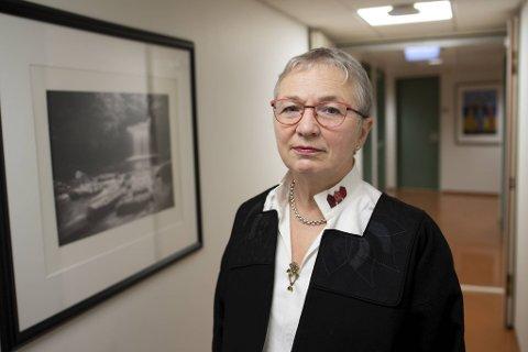 Helga Arianson (64) gir seg som fylkeslege i Vestland 31. mars 2021.