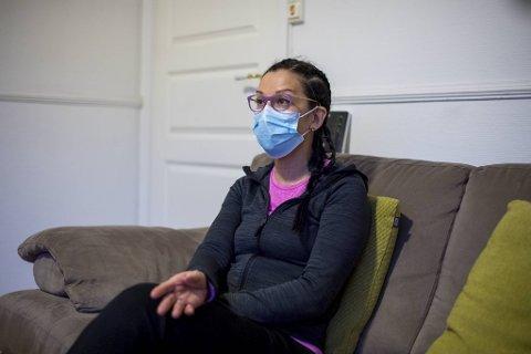 – Jeg var veldig fornøyd da vi fikk flytte inn her, så vi kunne bo godt og trygt.  Det viste seg dessverre at leiligheten er iskald, sier Silvana Funes.