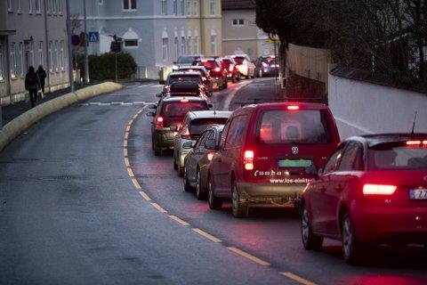 Etter at Ibsens gate åpnet for trafikk igjen, merker nærområdet stor forskjell på trafikken.
