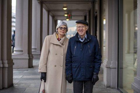 Astrid Rosenkrantz Hegland (1943) og Lars Hegland (1927), Montana