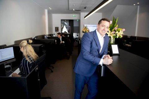Tommy Kaland i Kaland & Partners trapper ned som sjef og går tilbake som fulltids selger. Det vil forhåpentligvis gi seg utslag på neste års skattetall.