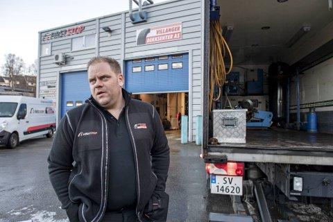 Per-Kristian Villanger blir daglig leder for de fire nye dekkforhandlerene. – Jeg ser frem til sammenslåingen, sier han. Arkivfoto: Eirik Hagesæter / BA