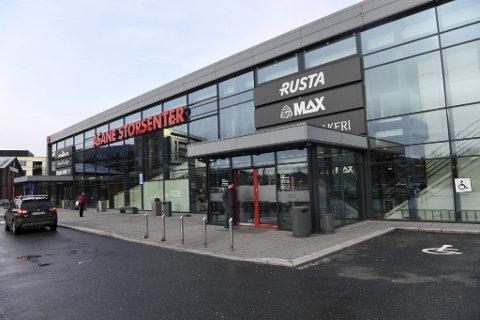 G-Max-butikken i Åsane er en av 95 egeneide butikker som er rammet av konkursen i Gresvig Retail Group.