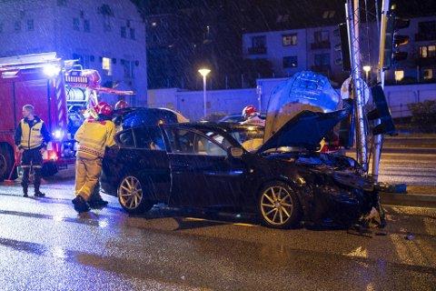 Begge de involverte bilene hadde behov for bilberging.