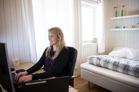 Merete Valle Larsen i Nordea Liv har blant annet ansvar for utbetalinger av pensjoner.