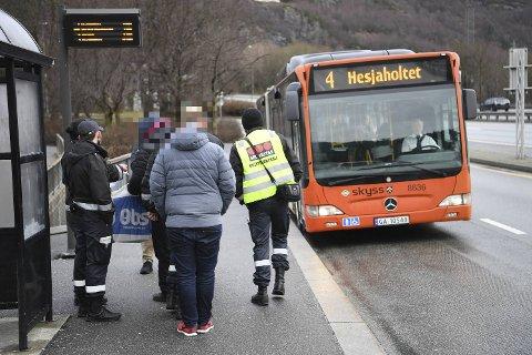 I en tid fremover vil det ikke være billettkontroller på kollektvtrafikken.