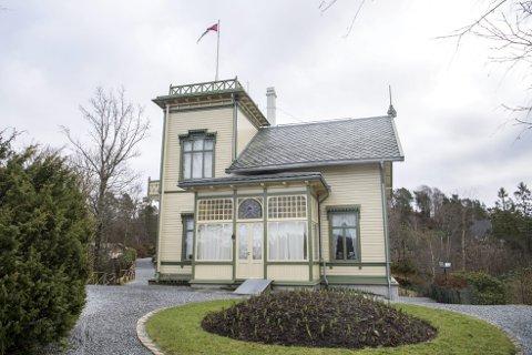 Troldhaugen er tom for folk om dagen. Alle konserter, arrangementer og museer er stengt. Foto: Anders Kjølen