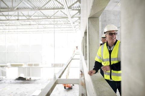 – For øyeblikket har vi normal produksjon, men hva som skjer vil bare tiden vise, sier daglig leder i Arena Nord, Roald Bruun-Hanssen.