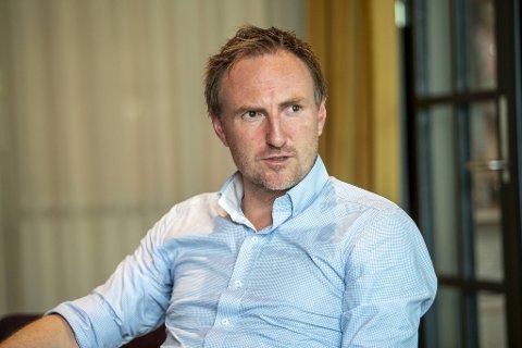 På Danmarks plass kan du fortsatt spille squash hos Milepel Squash, forteller daglig leder Christian Foss.