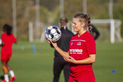 Sandvikens Vilde Drange Veglo (17) er tatt ut på J19-landslaget.