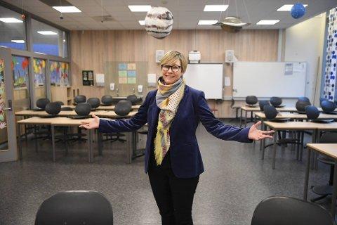 Birgitte Leirhol har fått en noe spesiell start på karrieren som rektor på Sædalen skole. Det som møtte henne var en tom skole for både lærere og elever.