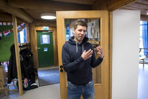 Ingvar Lønne Lunden, styrer i Den internasjonale barnehagen i Bergen, er allerede i gang med å planlegge barnehageåpningen etter at veiledningen fra myndighetene kom onsdag.