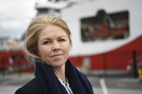 Daglig leder Siv Remøy-Vangen i Maritime Bergen mener rapporten bekrefter alvoret i situasjonen. FOTO: RUNE JOHANSEN