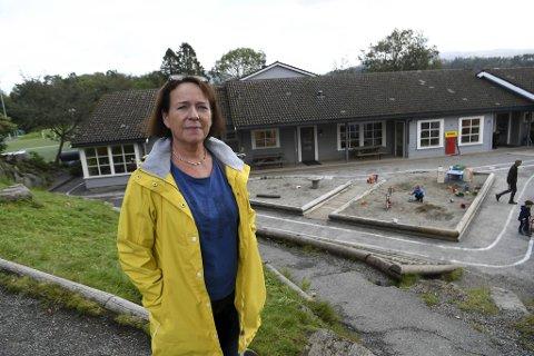 Leder for Idavollen barnehage Lilly Johanna Korsvold venter spent på nærmere retningslinjer for gjenåpning.