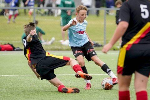 Breddeidretten fikk sin nye veileder mandag. Her fra fjorårets Norway Cup da Marikollen og Halvor Midtveit under møtte Brøttum i G14-klassen.