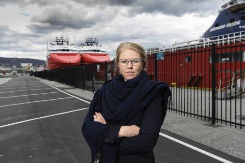 Siv Remøy-Vangen, daglig leder i Maritime Bergen. FOTO: RUNE JOHANSEN
