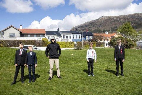 Gard Bergo Aarvik, Nikolai Bergo Aarvik, Selim Mutic, Olav Frøyen Sandvik, Joar Ekeland Bjørkly har sammen med resten av Fridalen kirkes guttekor laget sin egen versjon av «Nystemten».