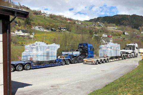 De to spesialtransportene fikk en samlet bot på 50.000 kroner.