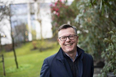 Rektor Dag Rune Olsen er godt fornøyd med at ved Universitet i Bergen deltar i en global klimaallianse.