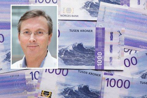 Enkle penger: Ved å flytte penger fra en konto til en annen vil du tjene penger slik situasjonen er akkurat nå. Høyskolelektor ved BI, Dag Jørgen Hveem, gjør utregningen i saken.