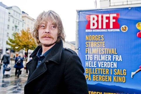 Den 21. BIFF vil tilby 500 forestillinger over 12 dager. Det er ny rekord i varighet. Her ser du Kristoffer Joner på en tidligere festival.