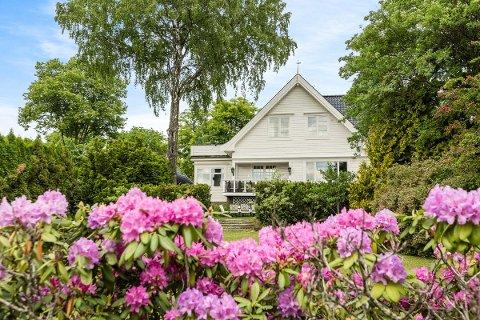 Villaen i Holmenkollen ligger ute til 25 millioner.