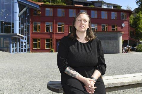 Katrin Grittner har vært ansatt som lærer ved Rudolf Steinerskolen i fire år. Siden høsten 2018 har hun også vært klubbleder for medlemmene i Utdanningsforbundet.