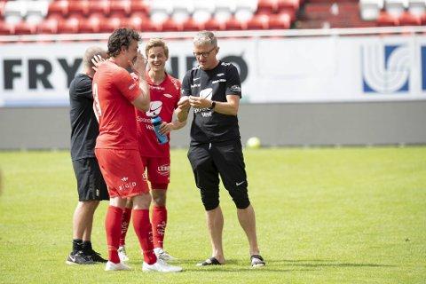 Lars Arne Nilsen ble imponert av Vegard Forren, men har neppe noe imot at trønderen legger bak seg noen flere meter i løpet av en kamp.