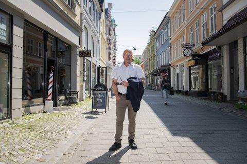 Steinar Kristoffersen i Bergen Sentrum AS har fått alarmerende tilbakemeldinger fra sine medlemsbedrifter.