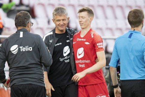 Lars Arne Nilsen hyller Ole Martin Kolskogen.