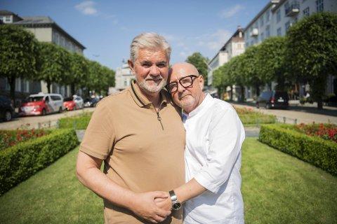 For Øystein Kvamsdal og Trond Skeide Johannessen er det kjærligheten som står i fokus. De bryr seg lite om hvilken merkelapp samfunnet setter på dem.