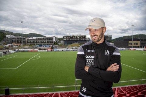 Kristoffer Larsen er klar for å bidra i Åsane.