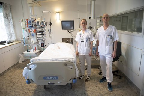 Rundt påske ble en rekke covid-19-pasienter innlagt på Haukeland Universitetssykehus, mange av disse ble henvist til fysioterapeutene Mari Birkeland og Morten Kolltveit.