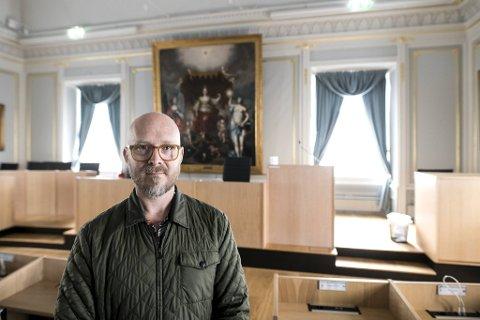 Kunstverket burde vært flyttet til et museum, mener Paul Richard Johannessen.