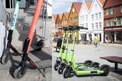 Flere aktører sitter på gjerdet og ønsker seg inn i Bergen med sine el-sparkesykler.