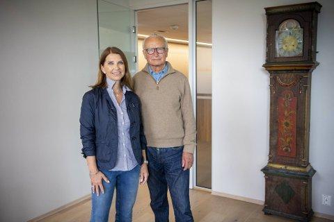 Renate Hjortland og ektemannen Herman Friele deler på verv og oppgaver i konsernet som markedsføres som Friele Gruppen.